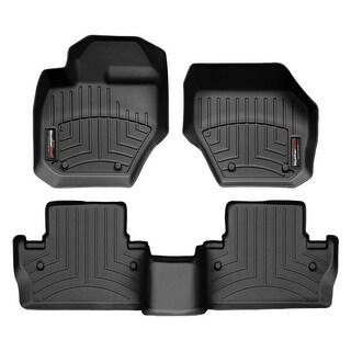 WeatherTech Volvo S60 2011+ Black Front & Rear Floor Mats FloorLiner 44234-1-3