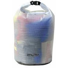 "Dry Tec Waterproof Medium Bag 9.5"" x 16"" Clear"