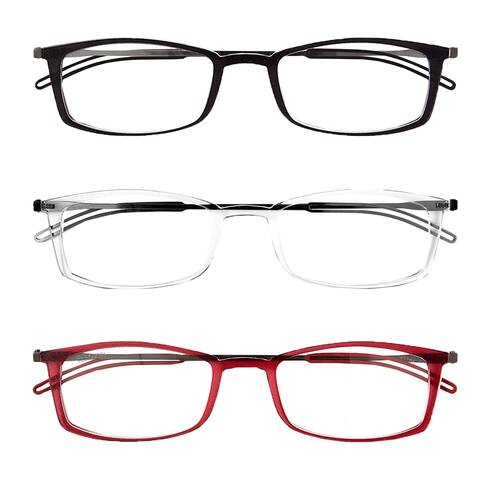 ThinOptics Front-Page Brooklyn Reading Glasses with Milano Case