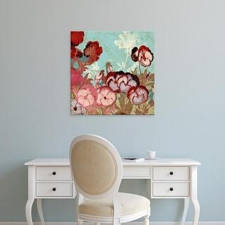 Easy Art Prints Vision Studio's 'Tokyo Rose II' Premium Canvas Art