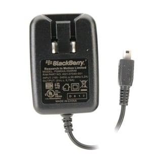OEM BlackBerry Folding Blade Travel/Wall Charger (Mini USB)