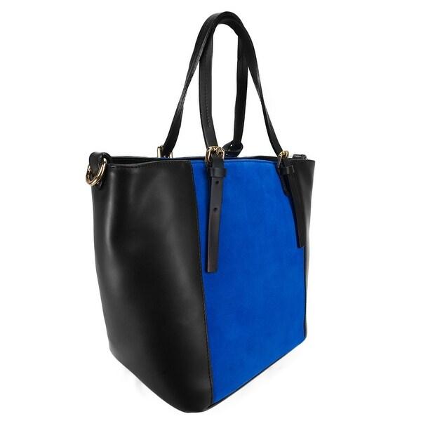 HS 5211 NE LALA Leather Shopper/Tote Bag - 11.5-11-8