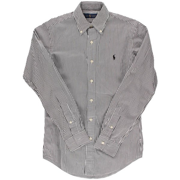 d633a7097 Shop Ralph Lauren Mens Button-Down Shirt Striped Long Sleeves - Free  Shipping On Orders Over  45 - Overstock - 14355008