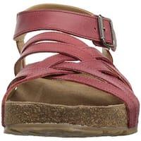 Haflinger Womens Bio Emma Open Toe Casual Slingback Sandals