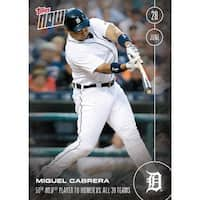 Detroit Tigers, Miguel Cabrera MLB 2016 Topps NOW Card 189 - multi