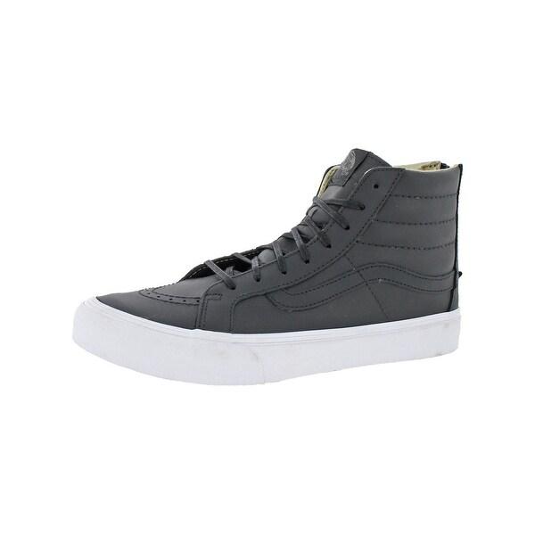 0b172b6e9f Shop Vans Womens Sk8-Hi Slim Zip Skate Shoes Lace-Up Fashion - 10 ...