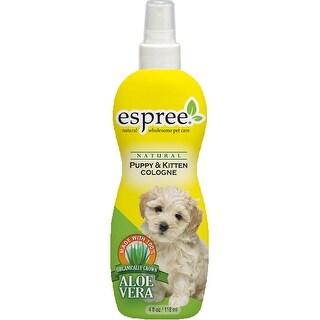 Espree Natural Conditioning Cologne W/Odor Eliminators 4Oz-Puppy & Kitten Baby Powder