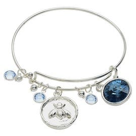 Silver Bee Deluxe Charm Bangle Bracelet - Exclusive Beadaholique Jewelry Kit|https://ak1.ostkcdn.com/images/products/is/images/direct/26d3e662951c0a78b2aef351af29ac3caf34c7ac/Silver-Bee-Deluxe-Charm-Bangle-Bracelet---Exclusive-Beadaholique-Jewelry-Kit.jpg?impolicy=medium