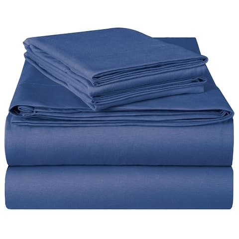 EnvioHome Hotel Quality Soft Cotton Deep Pocket Jersey Knit Sheets Set