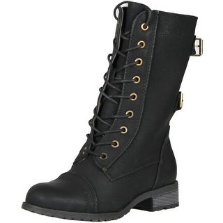 Wild Diva Women Timberly-02 Boots