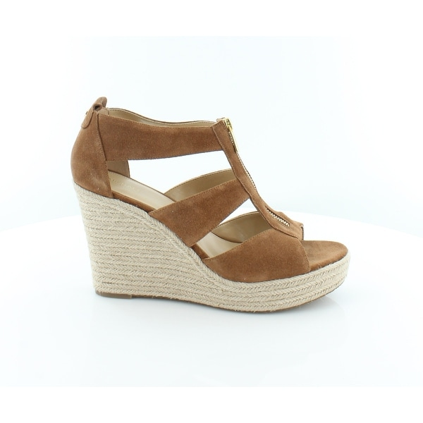 4f2c00b96b84 Michael Kors Damita Platform Sandal Women  x27 s Sandals Luggage - 11