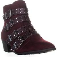 Sam Edelman Hutton Pointed Toe Ankle Boots, Deep Burgundy