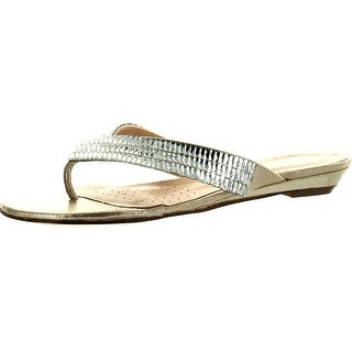 De Blossom Collection Mendy-20 Women's Slip-On Flip Flop Sandals