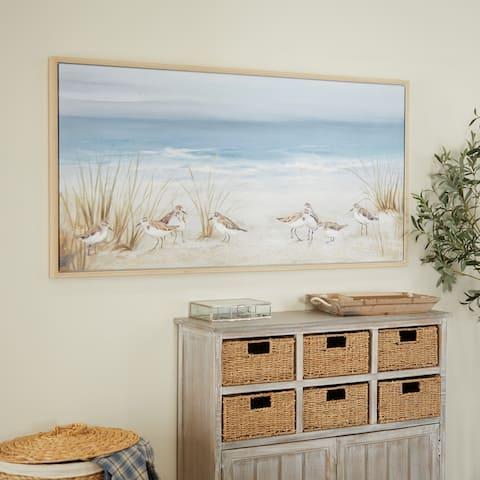 Blue Polystone Coastal Framed Wall Art