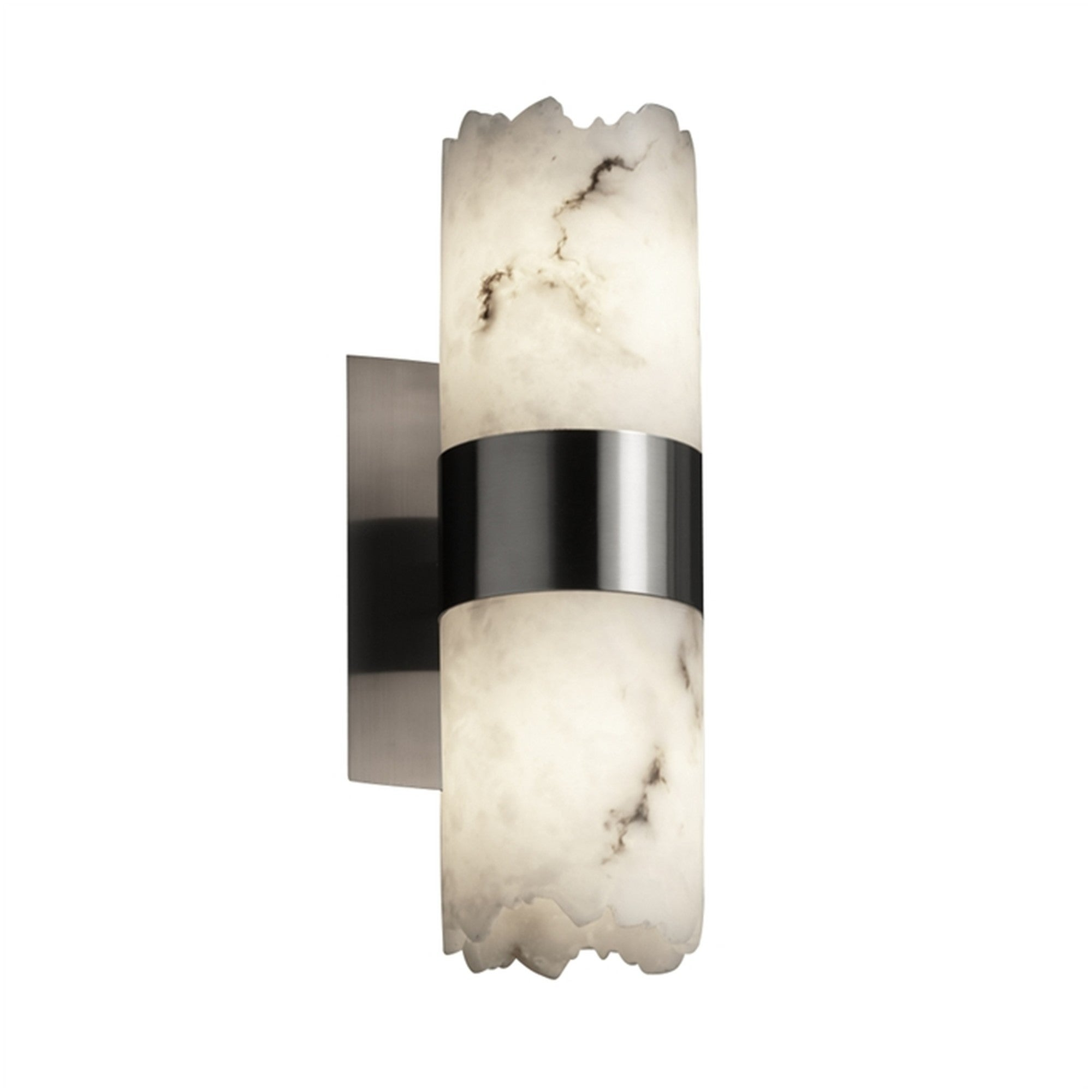 Justice Design Group Fal 8762 10 Lumenaria 2 Light 13 Tall Wall Sconce With Fau Overstock 27218927