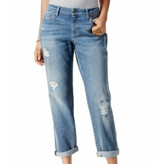 Tommy Hilfiger NEW Womens Size 14 Distressed Relaxed Boyfriend Jeans