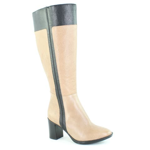 Naturalizer Womens Frances Taupe Fashion Boots Size 4.5