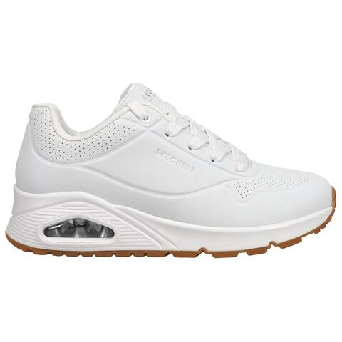 Skechers Uno Stand On Air Lace Up Womens Sneakers Shoes Casual -