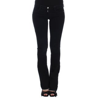 Costume National Costume National Dark Blue Straight Leg Jeans - w26