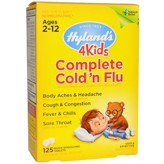 Hylands Homeopathic 4Kids Complete Cold & Flu 125 Tablets