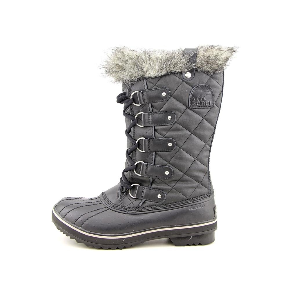 00761168 Shop Sorel Tofino CVS Women Round Toe Leather Black Winter Boot - Free  Shipping Today - Overstock - 14616082