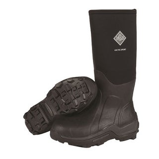 Muck Boots Black & Grey Arctic Sport Boot - Mens Size 6 / Womens Size 7