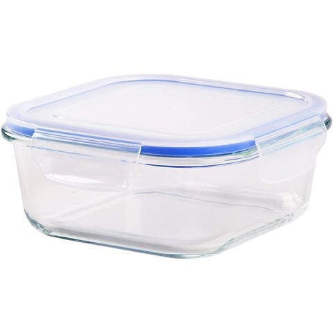 Tempered Glass Food Storage and Meal Prep Container with Airtight Lid - Baking Dish