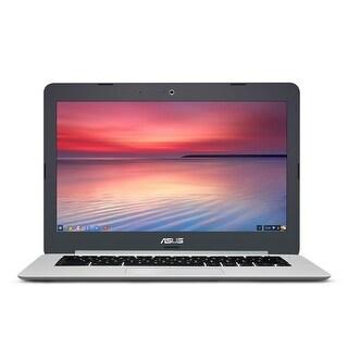 """Manufacturer Refurbished - Asus C301SA-IB04 13.3"""" Laptop Intel Celeron N3160 1.60GHz 4GB 32GB Chrome OS"""