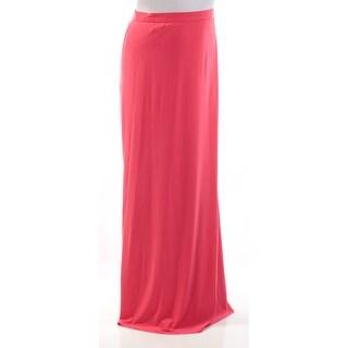 ADRIANNA PAPELL Womens New 1195 Red Full-Length A-Line Evening Skirt 12 B+B
