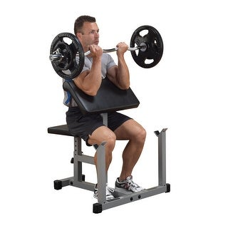 Body-Solid Powerline Preacher Curl Bench - metal