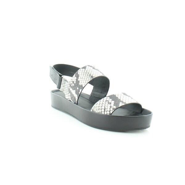 Vince Marett Women's Sandals Black/White - 5.5