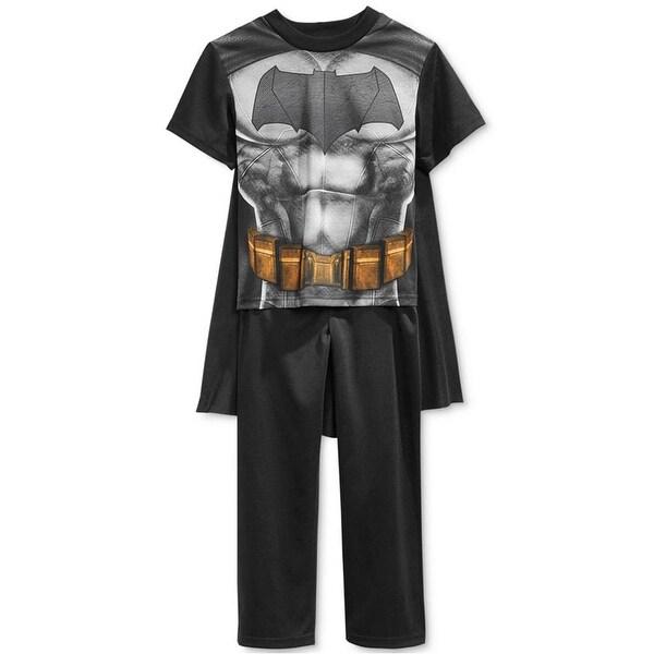 24559c45e3 DC Comics Boys 4-110 Batman v Superman Pajama Set With Cape - Free Shipping  On Orders Over  45 - Overstock.com - 24839375