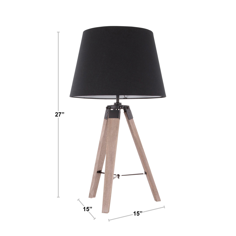 Shop Carson Carrington Vinala Mid Century Modern Tripod Table Lamp Overstock 22591840