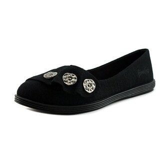 Blowfish Galven   Round Toe Canvas  Flats