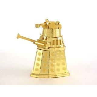 Fascinations Metal Earth Doctor Who Gold Dalek 3D Laser Cut Model