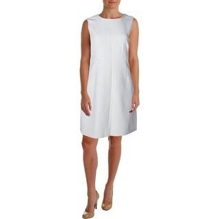 Diane Von Furstenberg Womens Carrie Sleeveless Sheath Wear to Work Dress