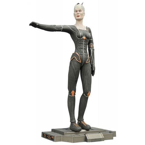 "Star Trek TNG 9"" Femme Fatales Borg Queen PVC Statue - multi"