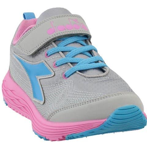 Diadora Girls Flamingo 2 Junior Running Casual Shoes