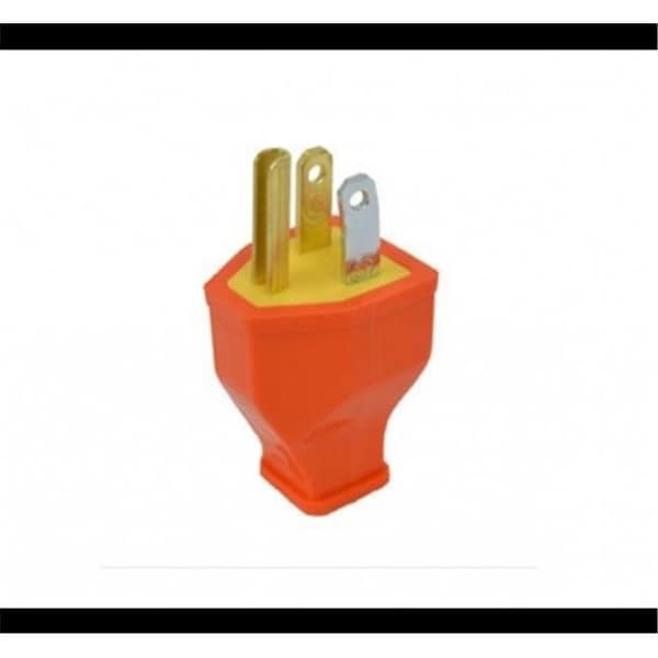 Awe Inspiring Shop Cooper Industries 3973104 3 Wire Grounded Cord Plug Orange Wiring Cloud Hisonuggs Outletorg