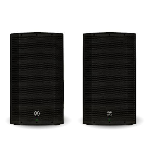 """Mackie THUMP12BST Powered 12"""" Bluetooth Loudspeakers 2600W Bi-Amped Speaker Pair"""