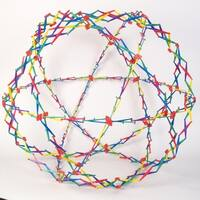 Hoberman Sphere Rainbow Toy - Innovative Expanding Ball