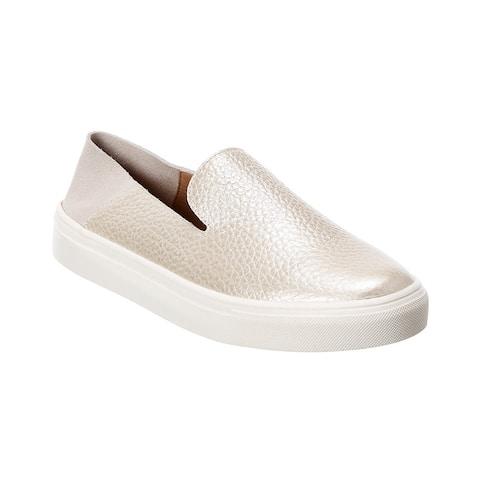 Kaanas Abaco Leather Slip-On Sneaker