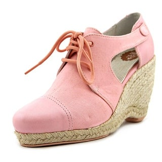 Camper Together Jessica Women Open Toe Leather Pink Wedge Heel