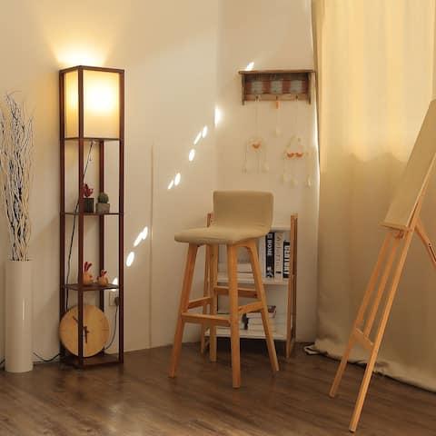 CO-Z LED 3-shelf Etagere Floor Lamp