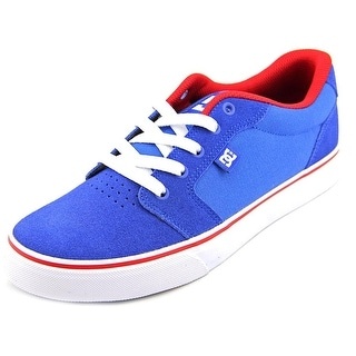DC Shoes Anvil Round Toe Suede Skate Shoe