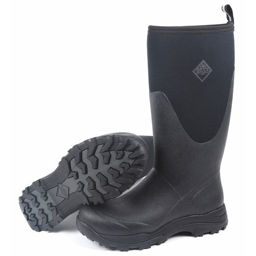 4519fcbcf82 Muck Boot s Brown Men s Arctic Outpost Tall Boot with Fleece Lining - Size 7