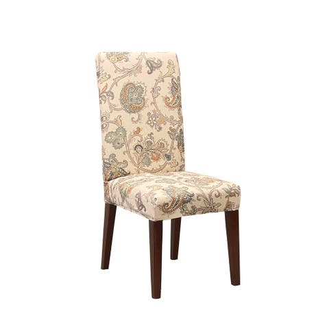 Sure Fit Home Decor Stretch Arezzo by Waverly Dining Chair Slipcover