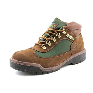 Timberland Field Boot Men  Round Toe Leather Brown Hiking Boot