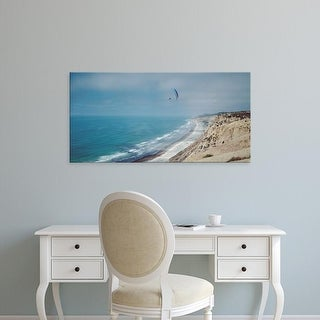 Easy Art Prints Panoramic Images's 'Paragliders over the coast, La Jolla, San Diego, California, USA' Canvas Art