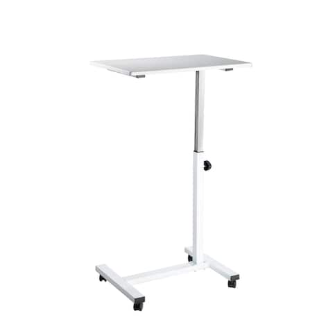 "airLIFT® 23.6"" Overbed Height Adjustable Mobile Side Table Cart"